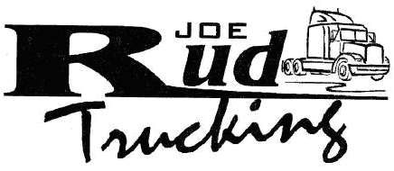 Joe Rud Trucking Logo